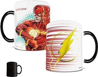 Morphing Mugs DC Comics Justice League (Flash) Ceramic Mug, Black