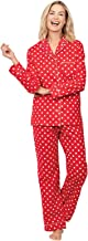 PajamaGram Flannel Pajamas Women Cozy – Boyfriend Pajamas for Women