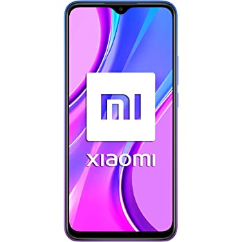 "Redmi 9 Samartphone - 4GB 64GB AI QUAD KAMERA 6.53"" Full HD + display 5020mAh (typ) Viola [Versione globale]"