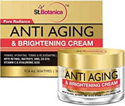 StBotanica Pure Radiance Anti Aging & Face Brightening Cream, SPF 25 - Firming, Hydrating, Toning & Rejuvenating - 50g