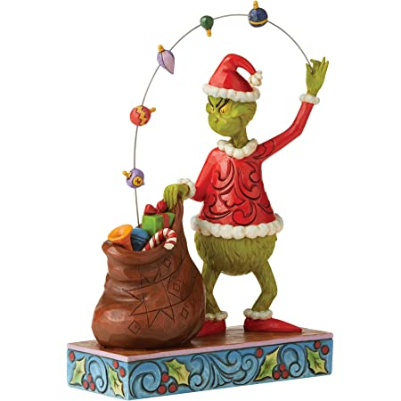 Jim Shore GRINCH MAX AND CINDY LOU BY TREE DECORATING Figurine 6006567 NEW 2020