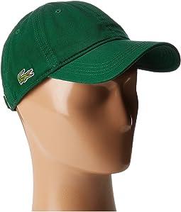 Lacoste - Croc Gabardine Cotton Cap