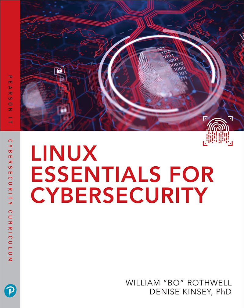 Image OfLinux Essentials For Cybersecurity (Pearson IT Cybersecurity Curriculum (ITCC)) (English Edition)