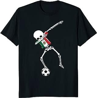Dabbing Skeleton Soccer Mexico Shirt Mexico Football