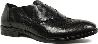 Santana Leather Slip On Black