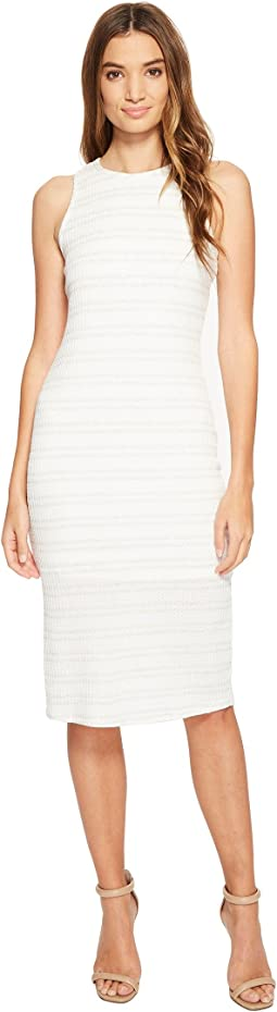 Brigitte Bailey - Maren Waffle Sleeveless Dress with Back Strap Detail