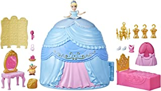 Disney Princess Secret Styles Cinderella Story Skirt, Playset with Doll, Furniture, and Extra Fashions, Toy for Girls 4 Ye...