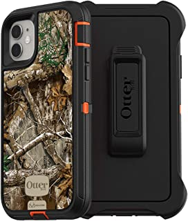 OtterBox DEFENDER SERIES SCREENLESS EDITION Case for iPhone 11 - RT BLAZE EDGE (BLAZE ORANGE/BLACK/RT EDGE GRAPHIC)