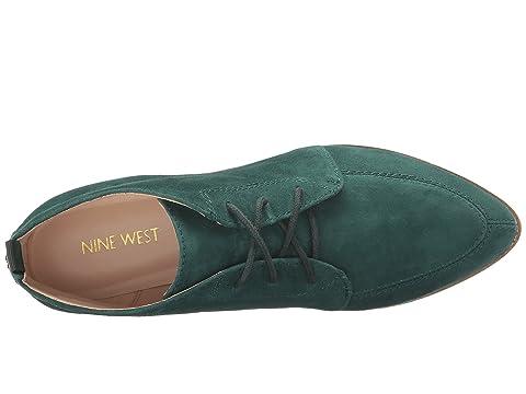 West Dark Quarena Nine Suede Green TqwRpTBdx