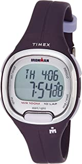Timex Women's Digital Watch, Analog Display and Resin Strap TW5M19700