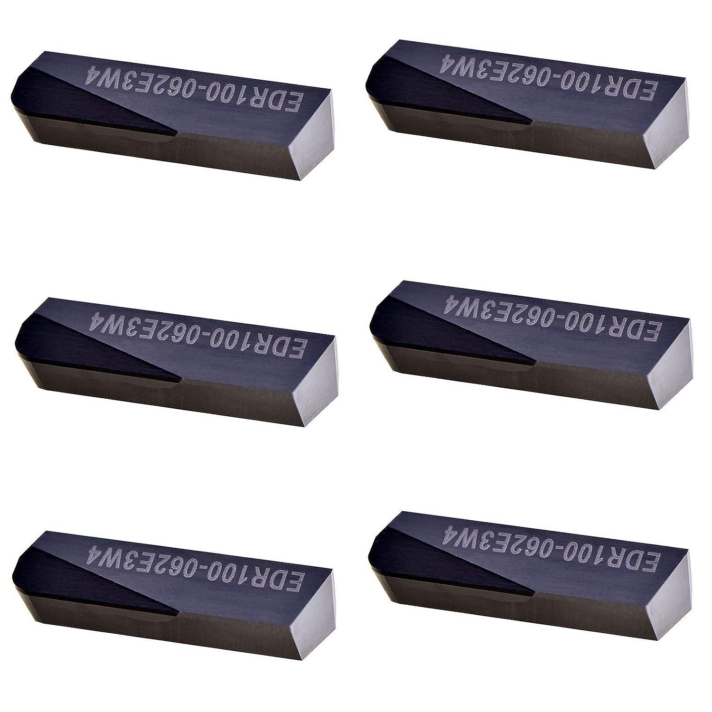 MAXTOOL 6PCs EDR100-062-E3-W4 PCD Japan Maker New Tip Milling Po DOV-LOK Cheap Inserts