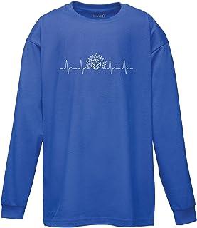 Supernatural Heartbeat Ladies Printed T-Shirt Brand88