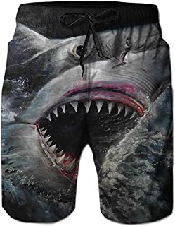 Belovecol Mens Swim Trunks Summer Cool Quick Dry Board Shorts Bathing Suit with Side Pockets Mesh Lining S-XXL