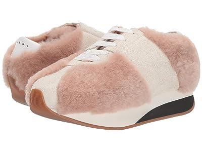MARNI Big Foot Sneaker (Swan/Ivory) Women