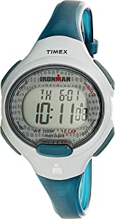 Timex Women's TW5M10100 Blue Polyurethane Quartz Sport Watch