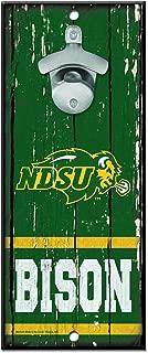 WinCraft NCAA North Dakota State Bison Wood Bottle Opener Sign, 5