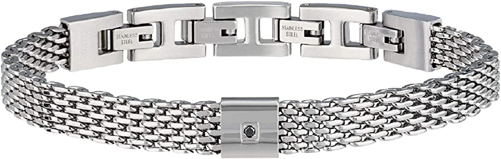 Breil,bracciale da uomo in acciaio inossidabile TJ2954