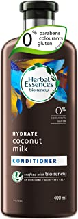 Herbal Essences bio:renew Coconut Milk CONDITIONER, 400ml | No Parabens No Colourants