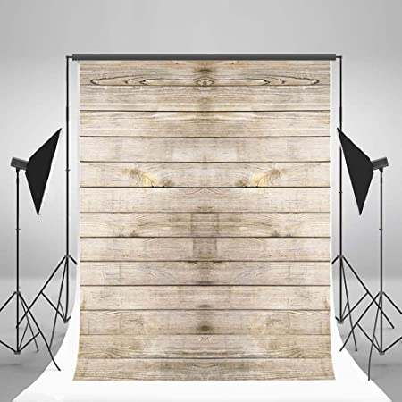 CdHBH Vinyl Wood Photography Background Backdrops Wooden Board Child Baby Shower Photo Studio Prop Photobooth Photoshoot 5x7ft