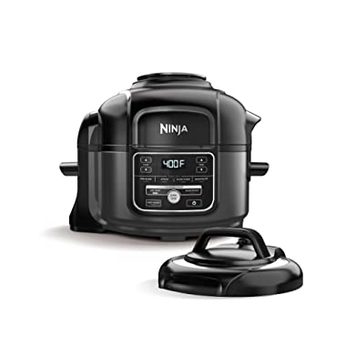 Ninja Foodi 7-in-1 Pressure, Slow Cooker, Air Fryer and More, with 5-Quart Capacity and 15 Recipe Book Inspiration Guide, and a High Gloss Finish