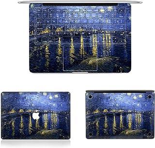 طبقة حماية كاملة من CHNAN 3 في 1 MB-FB15 (344) + طبقة حماية كاملة للوحة المفاتيح + مجموعة غشاء سفلي لجهاز MacBook Pro 13.3...