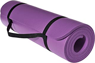 SKY-TOUCH Yoga Mat - Non Slip Yoga Mat with Yoga Mat Strap Included - 10mm Thick Exercise Mat Ideal for HiiT, Pilates, Yog...