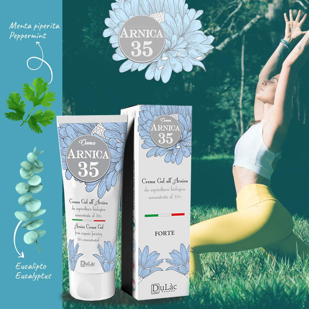 Natural Arnica Gel Cream for Sciatica Pain