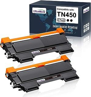 Best Office World Compatible Toner Cartridge Replacement for Brother TN450 TN-450 TN 450 TN420 TN-420,Compatible with Brother HL-2270DW HL-2280DW HL-2230 HL-2240D HL-2240 MFC-7860DW MFC-7360N MFC-7460D Review