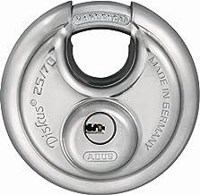 ABUS Diskus® hangslot 25/70 met 360° bescherming rondom - incl. 5 sleutels - met nauwkeurig draaisleutelsysteem - 32279 - ...