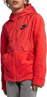 NIKE Boy's Sportswear Polar Fleece Full-Zip Hoodie