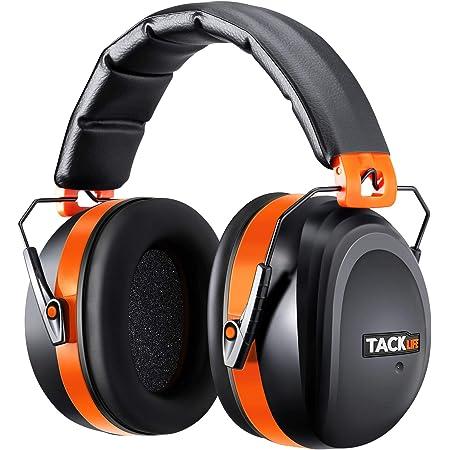 Protección Auditiva,TACKLIFE HNRE1 Orejeras Protectores SNR 34dB,Plegables Defensores del Oído con Tecnología de Cancelación de Ruido para Tiro,Estudio,Construcción