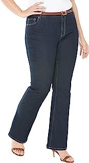 Women's Plus Size Petite True Fit Bootcut Jeans
