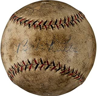 Babe Ruth Signed Autographed Game Used ONL Baseball PSA/DNA