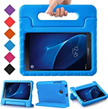 BMOUO Kids Case for Samsung Galaxy Tab A 7.0 - EVA ShockProof Case Light Weight Kids Case Super Protection Cover Handle Stand Case for Kids Children for Samsung Galaxy Tab A 7-inch Tablet - Blue