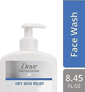 Dove DermaSeries Fragrance-Free Face Wash, for Dry Skin, 8.45 oz Pack of 6