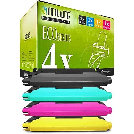 4x Mwt Toner Cartridges For Samsung Xpress C 430 480 Fw W Fn Replaces P404 C 404 All Colours Bürobedarf Schreibwaren