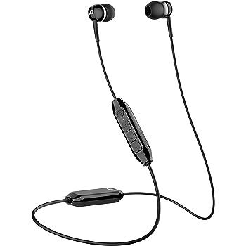 Sennheiser CX 350BT Bluetooth 5.0 Wireless Headphone - 10-Hour Battery Life, USB-C Fast Charging, Virtual Assistant Button, Two Device Connectivity - Black (CX 350BT Black)