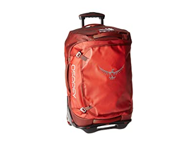 Osprey Transporter Wheeled Duffel 40 (Ruffian Red) Bags