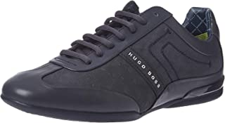 Hugo Boss Men's Space Select Nubuck Low Top Leather Sneaker