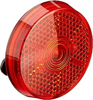Prophete LED-Blinklicht, rund, rot, inkl. Batterie, schwarz, L