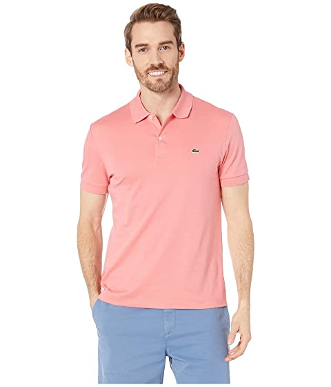5e5426ba Lacoste Short Sleeve Jersey Interlock Regular at Zappos.com
