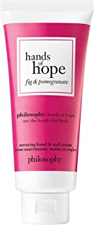 philosophy hands of hope hand and nail cream, fig and pomegranate, 1 oz