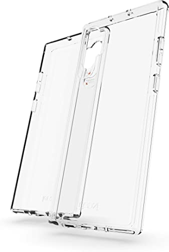 new arrival GEAR4 Crystal Palace Phone Case Compatible with Samsung Galaxy Note 10+ Case, Advanced Impact Protection with Integrated D3O Technology, outlet online sale Anti-Yellowing, new arrival Phone Cover – Transparent outlet online sale