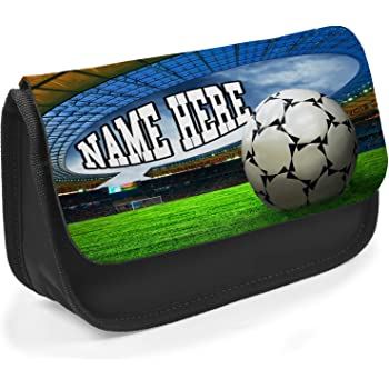 Choice of colours Personalised FOOTBALL Pencil Case