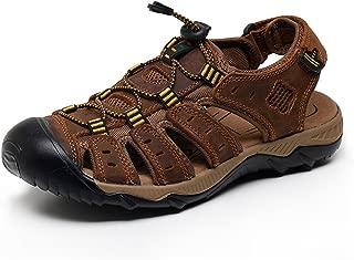 Summer Beach Breathable Men Sandals Genuine Leather Men's Sandal Man Causal Shoes