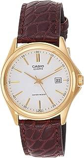 Casio Core Men'S White Dial Leather Band Watch - LTP-1138Q-7A/Mtp1183Q-7A