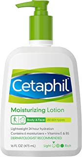 Cetaphil Moisturizing Lotion for All Skin Types 16 oz