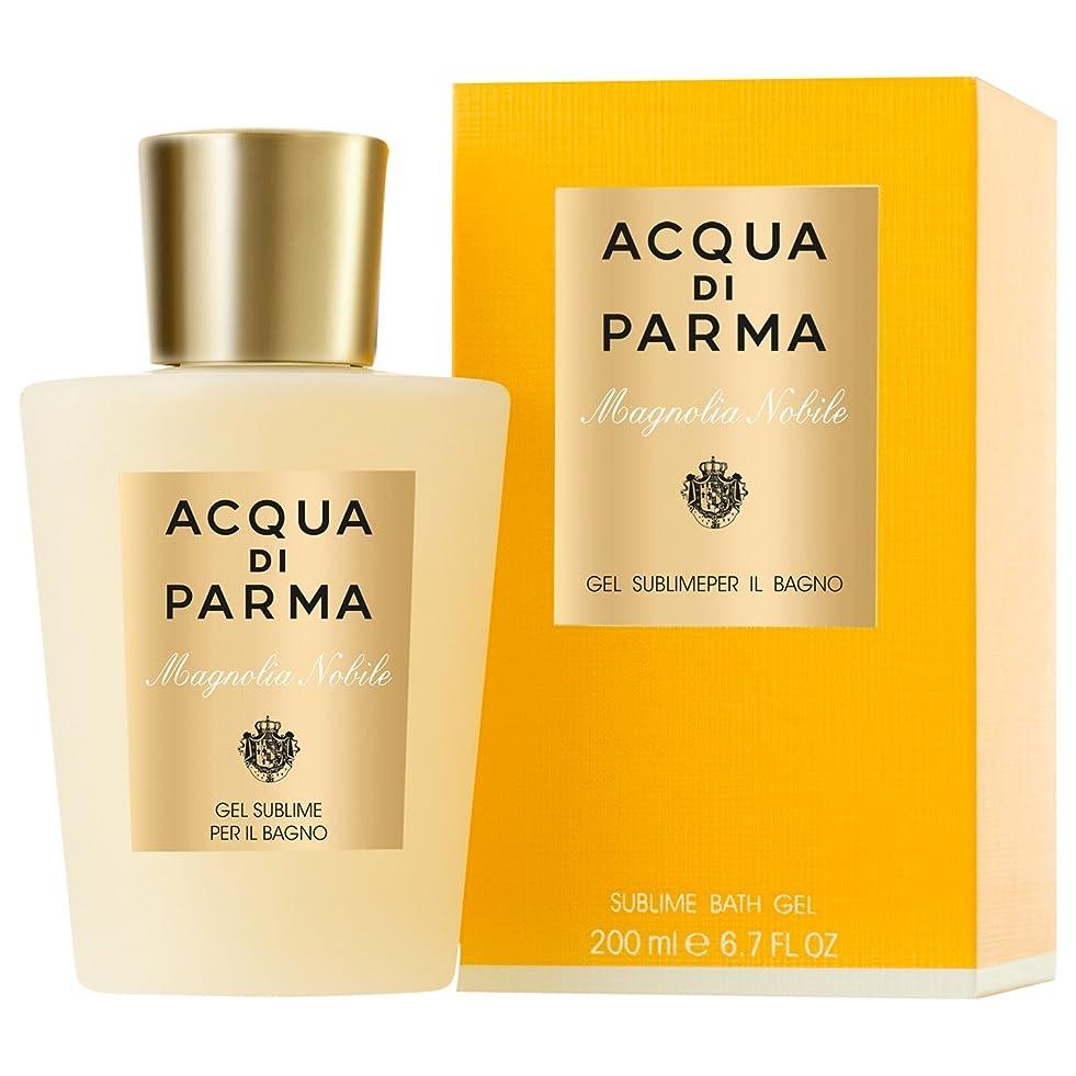ティッシュソート騒々しいアクア?ディ?パルマモクレンノビルシャワージェル200ミリリットル (Acqua di Parma) - Acqua di Parma Magnolia Nobile Shower Gel 200ml [並行輸入品]
