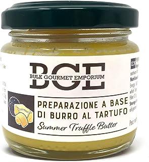 Bulk Gourmet Emporium - Mantequilla de trufa de verano en frascos de vidrio, 3 x 70 g (210 g en total)