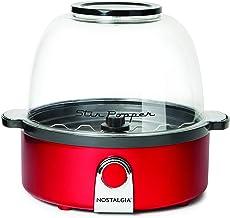 Nostalgia Retro Red Stir Popcorn Popper - SP240RR, Red